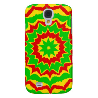 Spiked Rasta Pattern Samsung Galaxy S4 Cover