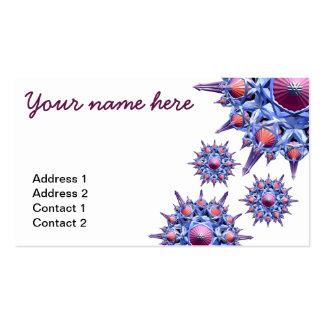 Spikeflower Business Card2 Business Card Templates