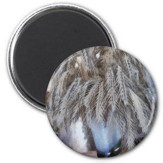 Spikelet 2 Inch Round Magnet