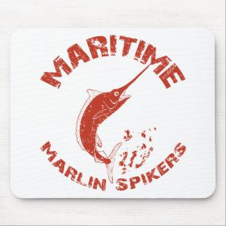 Spikers marítimos de la aguja tapetes de raton
