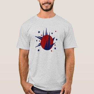 Spikes Circle Stars T-Shirt