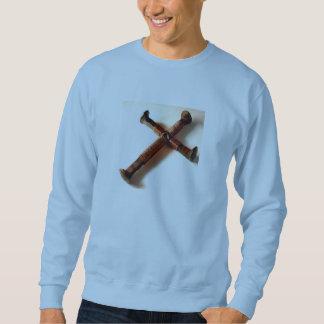 Spikes Cross Sweatshirt
