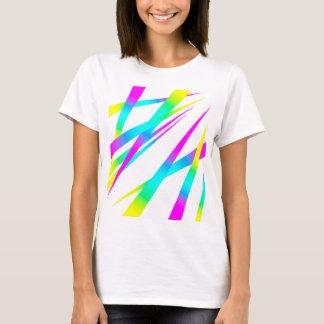 Spikes CYMK white T-Shirt