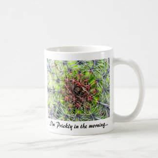 Spikes, Thorns and Needles Plant, Close Up (2) Classic White Coffee Mug