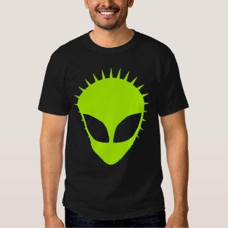 Spikey Green Alien Punk Shirt
