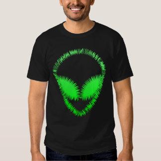 Spikey Green Alien Shirt