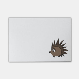 Spikey Hedgehog Post-it® Notes