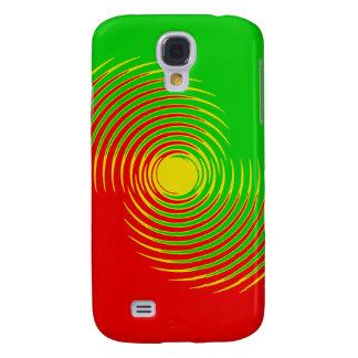 Spikey Rasta Wave Galaxy S4 Case