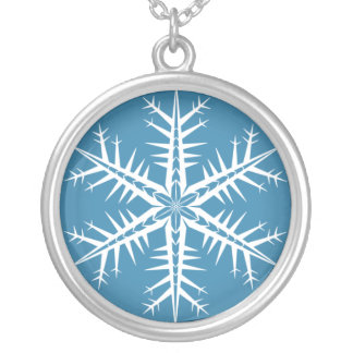 Spikey Snowflake - Necklace