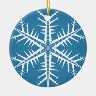 Spikey Snowflake - Ornament