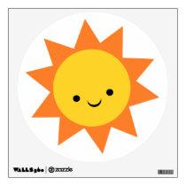 Spikey Sunshine Wall Sticker