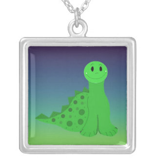 Spikey the Green Dinosaur Jewelry