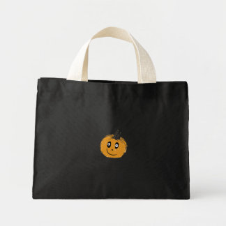 spikeyjacklantern mini tote bag