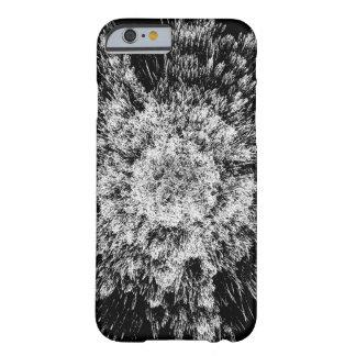 Spiky black and white barely there iPhone 6 case