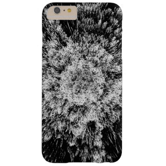 Spiky black and white barely there iPhone 6 plus case