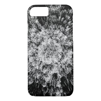 Spiky black and white iPhone 7 case