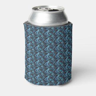 Spiky Blue Sharkfin Beer Sleeve / Can Cooler