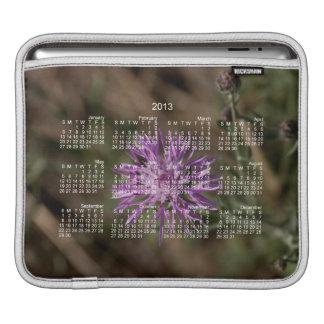 Spiky Clover; 2013 Calendar iPad Sleeve