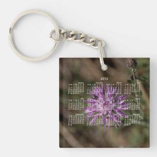 Spiky Clover; 2013 Calendar Keychain