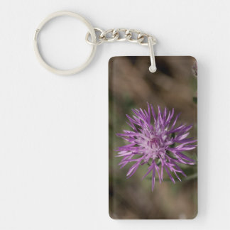 Spiky Clover; No Text Acrylic Key Chains