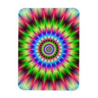 Spiky Color Explosion Magnet