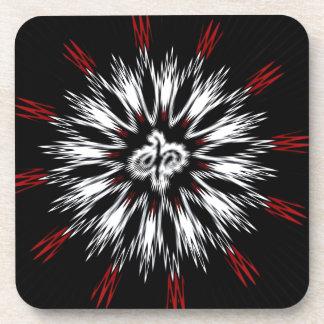 Spiky Designs Beverage Coasters