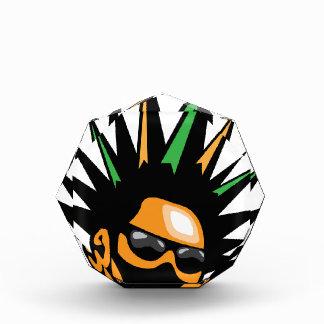 Spiky Hair Acrylic Award