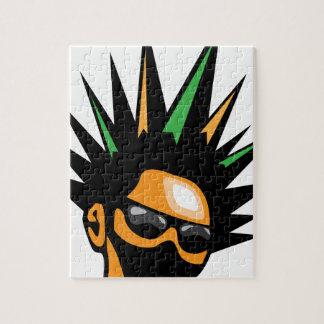 Spiky Hair Jigsaw Puzzle