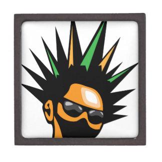 Spiky Hair Keepsake Box