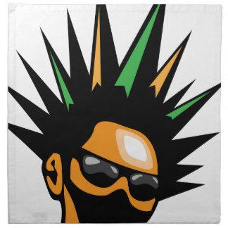 Spiky Hair Napkin