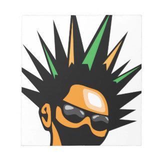 Spiky Hair Notepad