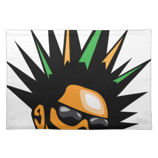 Spiky Hair Placemat