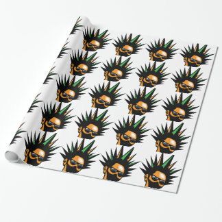 Spiky Hair Wrapping Paper
