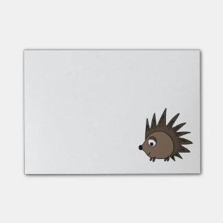 Spiky Hedgehog Post-it Notes