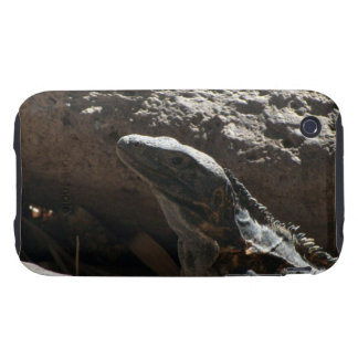 Spiky Iguana iPhone 3 Tough Cover