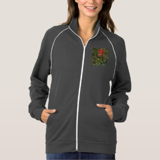 Spiky Red Wildflower Jacket