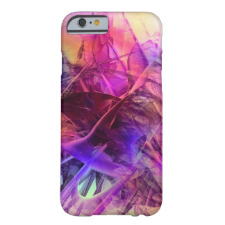 Spiky Shiny Glass Shards Abstract Design Barely There iPhone 6 Case