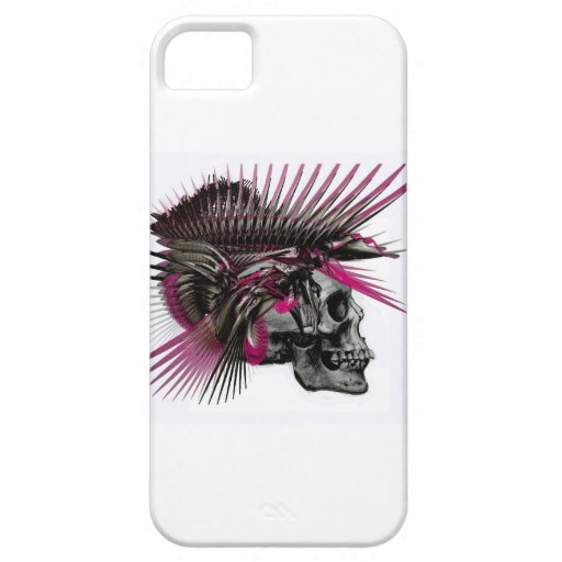 Spiky Skull iPhone 5 Covers