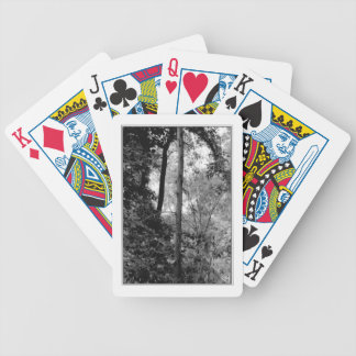 Spiky Tree Bicycle Playing Cards