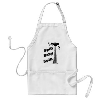 spill adult apron