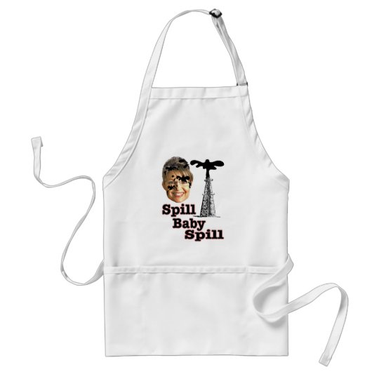spill baby adult apron