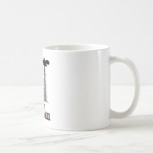 spill baby classic white coffee mug