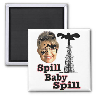spill baby 2 inch square magnet
