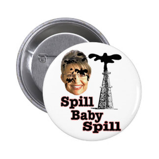spill baby pinback buttons