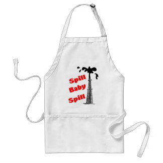 Spill Baby Spill! Adult Apron