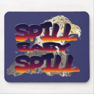 spill baby spill mouse mats