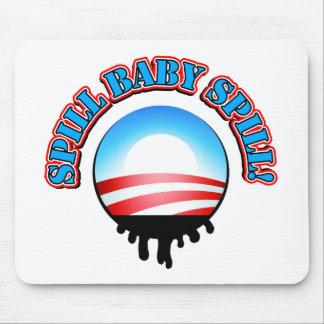 Spill Baby Spill Obama Mousepad