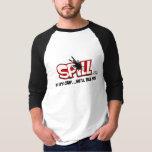 Spill Logo 3/4 Sleeve Raglan Tee Shirt