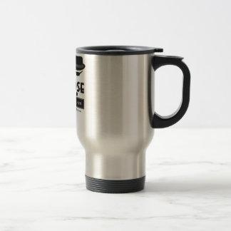 Spill-proof Stainless Steel Travel Mug