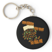 Spill the Beans Keychain